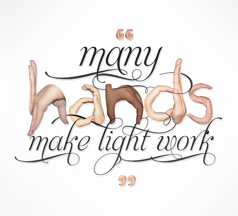 many-hands-make-light-work